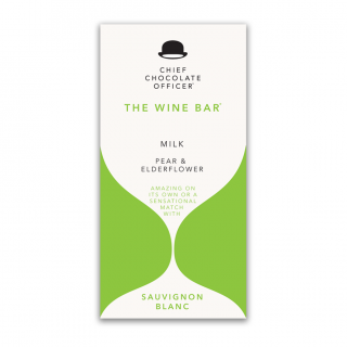 The Wine Bars Sauvignon Blanc mjölkchoklad 100g